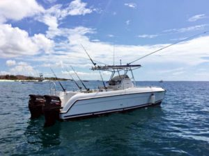Fishing Charters Zanzibar onboard Cobia