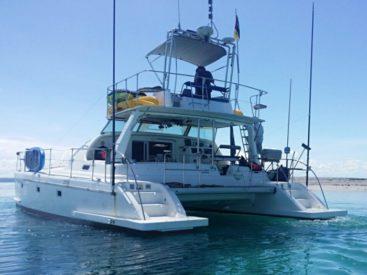 All out Zanzibar Fishing Live Aboard vessel!